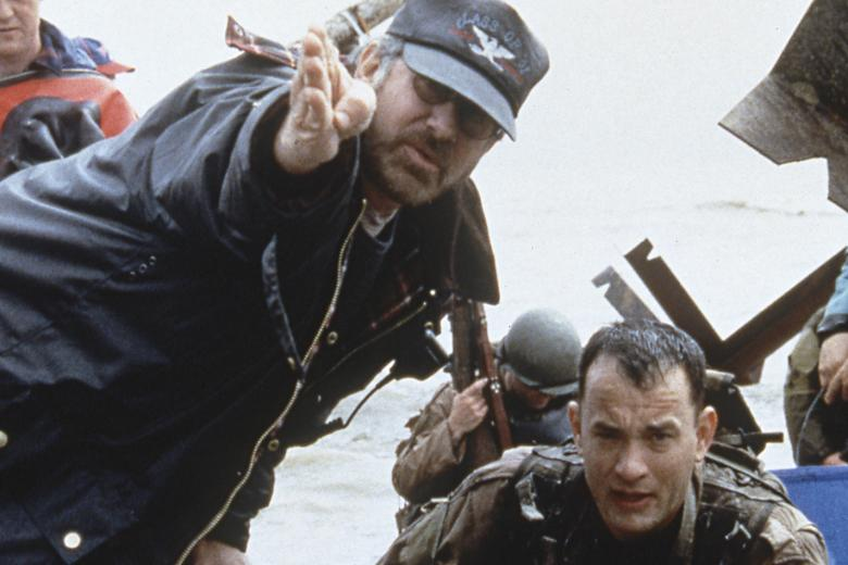 About Spielberg  From Director Steven Spielberg Spielberg Directs Tom Hanks On The Set Of Saving Private Ryan The Film Won  Spielberg His Second Best Director Academy Award